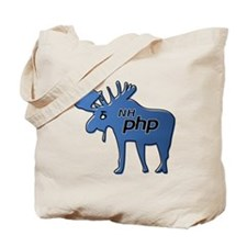 New Hampshire PHP Moose Logo w/o Text Tote Bag
