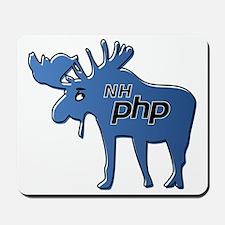 New Hampshire PHP Moose Logo w/o Text Mousepad