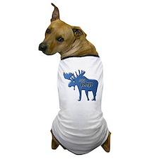 New Hampshire PHP Moose Logo w/o Text Dog T-Shirt