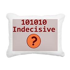 Binary 101010 Mousepad Rectangular Canvas Pillow