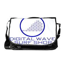 DWSS Logo on Circle Background Messenger Bag