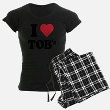 I Heart TOB's (tig ole bitti Pajamas