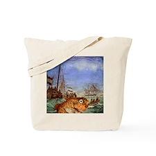 Seafood Reversed Tote Bag