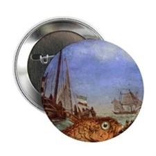 "Seafood Reversed 2.25"" Button"