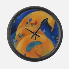 Treasures Large Wall Clock