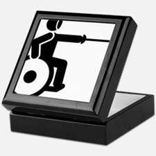 Wheelchair-Fencing-A Keepsake Box