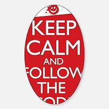 Keep Calm and Follow the Code iPad  Decal