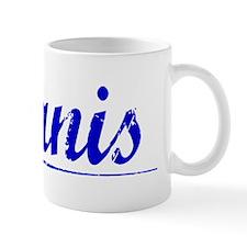Alanis, Blue, Aged Mug