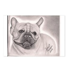 French Bull Dog Postcards (Package of 8)