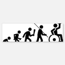 Wheelchair-Rugby-C Bumper Bumper Sticker