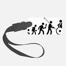 Wheelchair-Rugby-C Luggage Tag