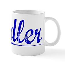 Adler, Blue, Aged Mug
