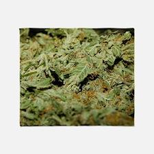 Cannabis II Throw Blanket
