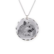 Icelandic Sheepdog Shirt Necklace
