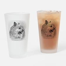 Icelandic Sheepdog Shirt Drinking Glass