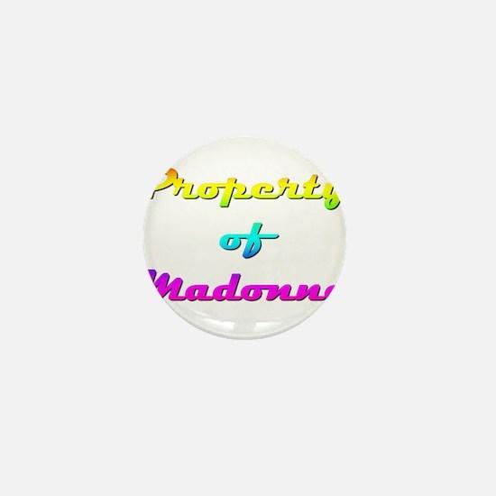 Property Of Madonna Female Mini Button