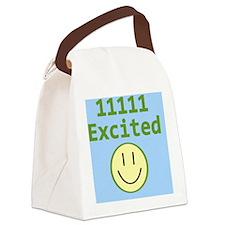 Binary 11111 Clipboard Canvas Lunch Bag
