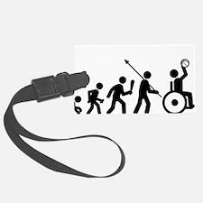 Wheelchair-Basketball-C Luggage Tag