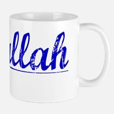Abdullah, Blue, Aged Mug