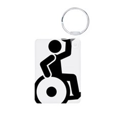 Wheelchair-Rugby-A Keychains