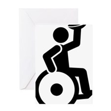 Wheelchair-Rugby-A Greeting Card