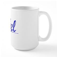 Abel, Blue, Aged Mug
