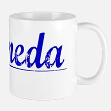 Alameda, Blue, Aged Mug