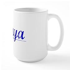Anaya, Blue, Aged Mug