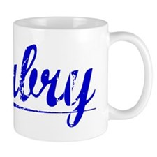 Aubry, Blue, Aged Small Mug