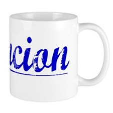 Asuncion, Blue, Aged Small Mug