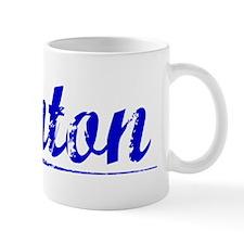 Anton, Blue, Aged Mug