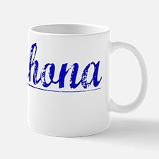 Barahona, Blue, Aged Mug