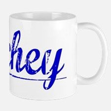 Archey, Blue, Aged Mug