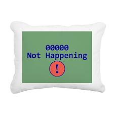 Binary 00000 Mousepad Rectangular Canvas Pillow
