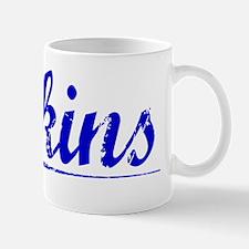 Atkins, Blue, Aged Mug