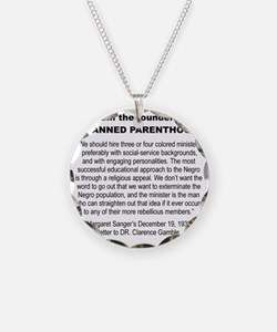 FROM THE FOUNDER OF PLANNED  Necklace Circle Charm