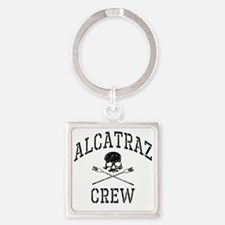 Alcatraz Crew Square Keychain