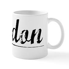 Jordon, Vintage Mug