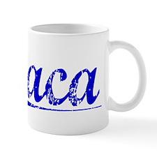Baca, Blue, Aged Mug