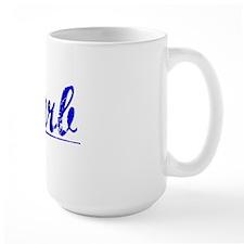 Barb, Blue, Aged Mug