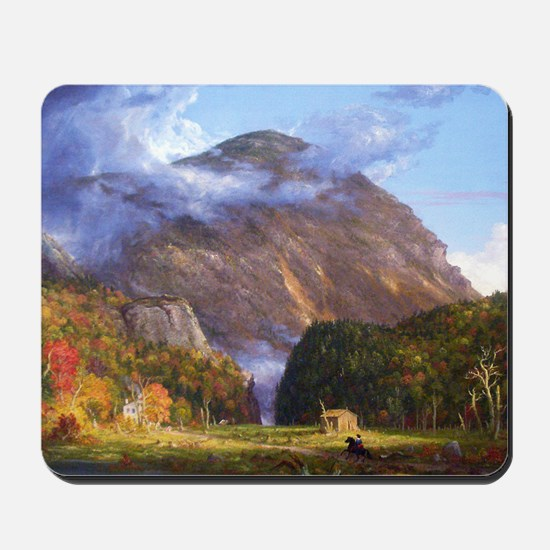 Thomas Cole A View Of The Mountain Pass Mousepad