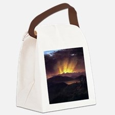 Frederic Edwin Church After The A Canvas Lunch Bag