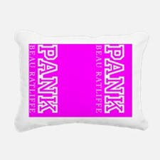 PANK flip flops Rectangular Canvas Pillow
