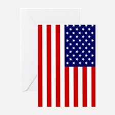 American Flag Greeting Cards (Pk of 10)