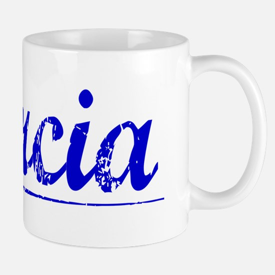 Barcia, Blue, Aged Mug