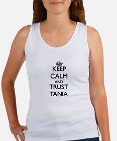 Keep Calm and trust Tania Tank Top