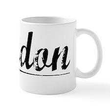 Landon, Vintage Mug