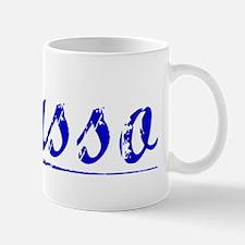 Basso, Blue, Aged Mug