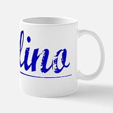 Bellino, Blue, Aged Mug