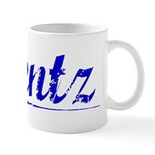 Bentz, Blue, Aged Mug